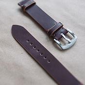 Украшения handmade. Livemaster - original item Watchband from Shell Cordovan 18mm/20mm/22mm/24mm. Handmade.