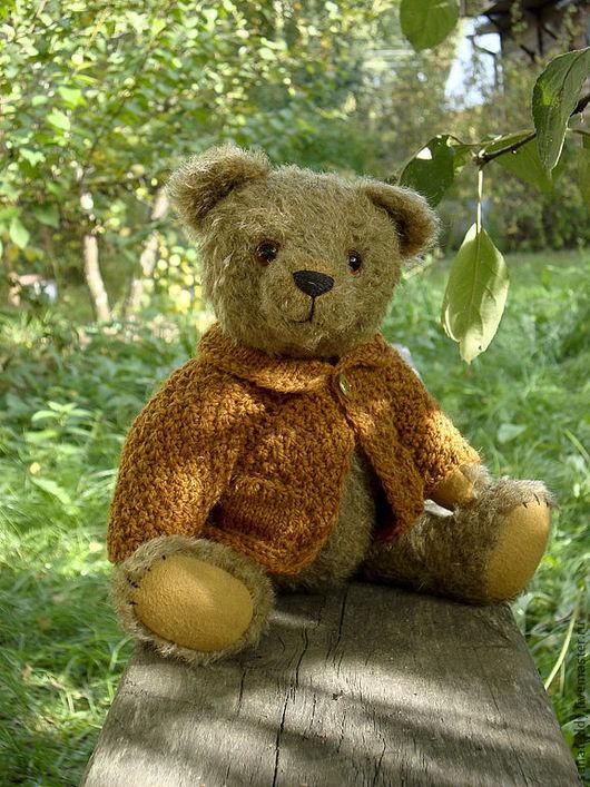 Мишки Тедди ручной работы. Ярмарка Мастеров - ручная работа. Купить Бориска. Handmade. Коллекционные медведи, коричневый
