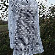 Одежда handmade. Livemaster - original item Tunic crochet beach Marina. Handmade.