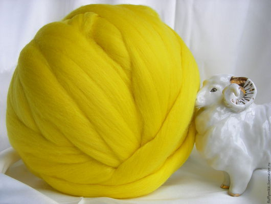 Австралийский топс меринос 18 мкм №224 лимон