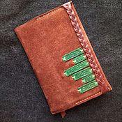 Канцелярские товары ручной работы. Ярмарка Мастеров - ручная работа Кожаный блокнот Old Friend. Handmade.