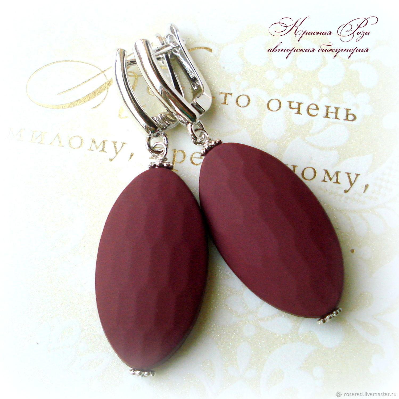 Earrings 'Evelyn', Earrings, Stupino,  Фото №1