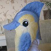 """Для дома и интерьера ручной работы. Ярмарка Мастеров - ручная работа Шапка для сауны """"Дельфин"""". Handmade."""
