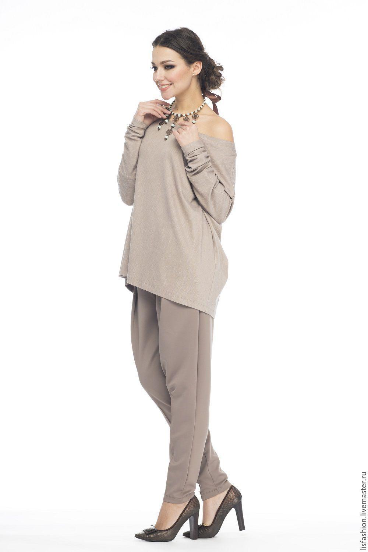 Блузка бежевая купить