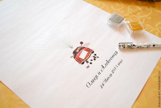 Свадебная машинка 1
