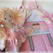 """Куклы и игрушки ручной работы. Ярмарка Мастеров - ручная работа Домик-сумочка для куколки """"Розочки под дождиком"""". Handmade."""