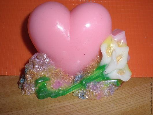 """Мыло ручной работы. Ярмарка Мастеров - ручная работа. Купить Мыло """"Для тебя, с любовью!"""". Handmade. Мыло ручной работы"""