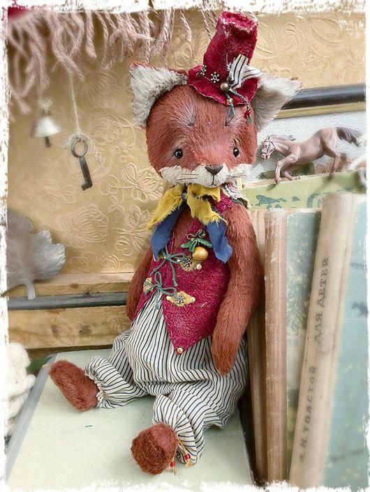 Мишки Тедди ручной работы. Ярмарка Мастеров - ручная работа. Купить -15% Музыкальный лисенок 32см. Handmade. Лис, крутакова