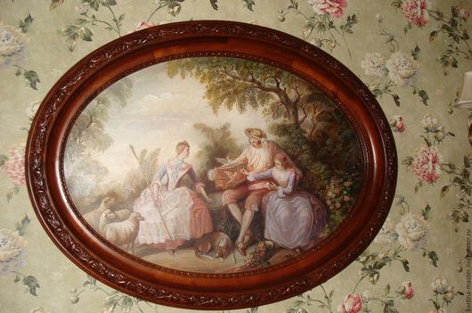Картина `Буше` (репродукция золотой век Франция)