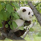 Куклы и игрушки ручной работы. Ярмарка Мастеров - ручная работа Панда Да Йоу Фэй. Handmade.