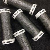 Нитки ручной работы. Ярмарка Мастеров - ручная работа Metallics Antique, цвет 899, металлизированные нити Au Ver a Soie. Handmade.