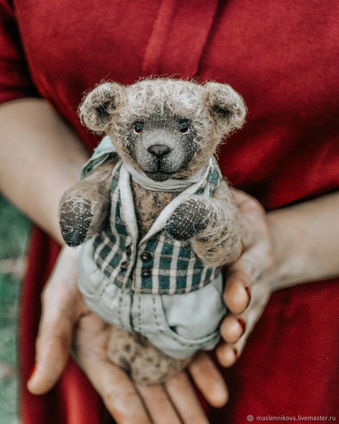 Медведь Эдисон (18см), Мягкие игрушки, Москва,  Фото №1