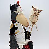 Мягкие игрушки ручной работы. Ярмарка Мастеров - ручная работа Ворон Наполен. Handmade.