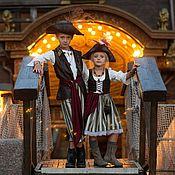 Карнавальные костюмы ручной работы. Ярмарка Мастеров - ручная работа Пират, карнавальный костюм , пиратка, корсар, моряк, море. Handmade.