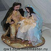 Куклы и игрушки ручной работы. Ярмарка Мастеров - ручная работа святое семейство. Handmade.
