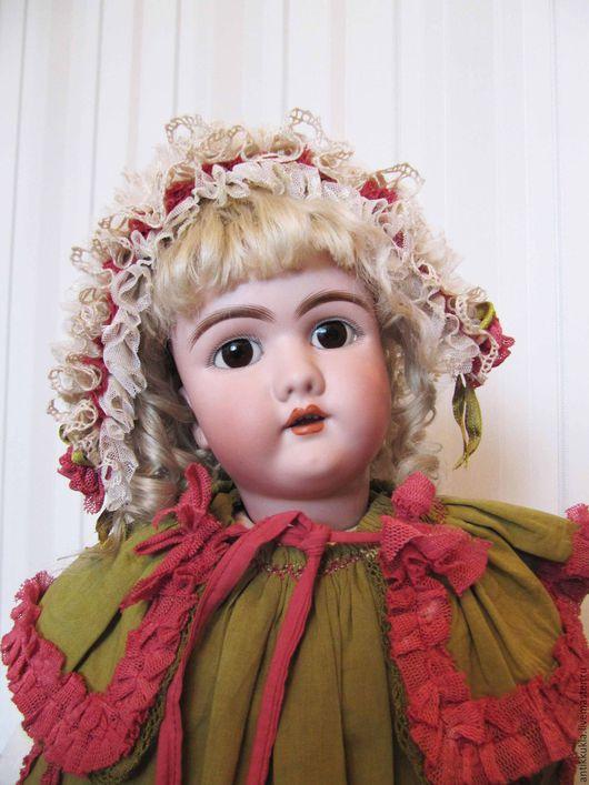 Винтажные куклы и игрушки. Ярмарка Мастеров - ручная работа. Купить Ранний Handwerck 109 dep c провенансом. Handmade. белый