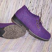 """Обувь ручной работы. Ярмарка Мастеров - ручная работа Туфли валяные """"Прекрасная леди"""". Handmade."""
