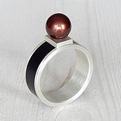 Украшения handmade. Livemaster - original item Ring with pearls. Handmade.