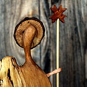 Для дома и интерьера handmade. Livemaster - original item Angels with an asterisk. Wooden figure.. Handmade.