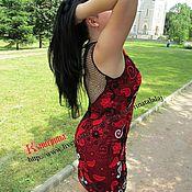 Одежда ручной работы. Ярмарка Мастеров - ручная работа Платье Кармен. Handmade.