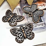 Материалы для творчества handmade. Livemaster - original item Pendant Butterfly color Copper (Ref. 1534). Handmade.