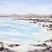Картины и панно handmade. Livemaster - original item The picture sea oil painting Abstract seascape. Handmade.