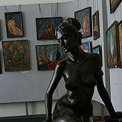 Для дома и интерьера ручной работы. Ярмарка Мастеров - ручная работа Скульптура в полный рост человека. Handmade.