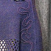 Одежда handmade. Livemaster - original item Shawl poncho knitted