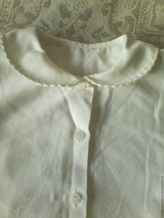 Одежда. Ярмарка Мастеров - ручная работа. Купить Старенькая детская рубашечка! Объект для творчества! Винтаж!. Handmade. Винтажный стиль, оборка