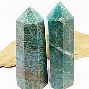 Фен-шуй и эзотерика handmade. Livemaster - original item Amazonite crystal 73-75 mm. Handmade.