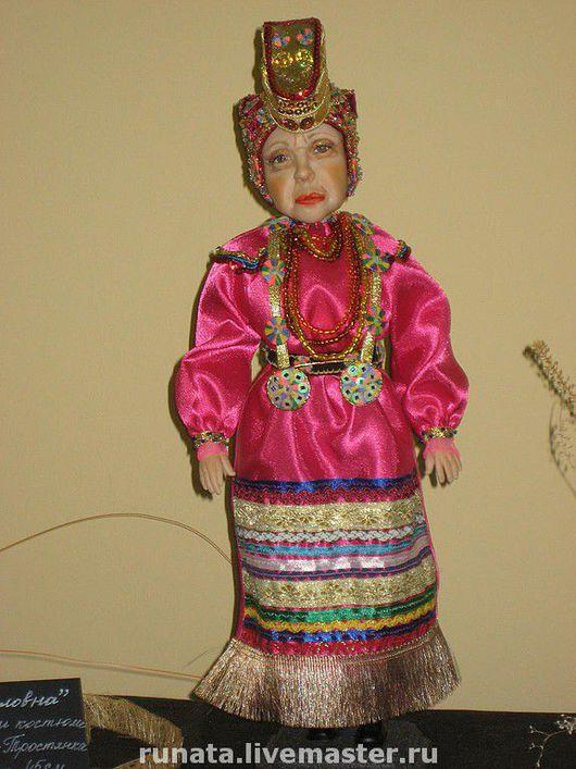 """Коллекционные куклы ручной работы. Ярмарка Мастеров - ручная работа. Купить """"Корниловна"""". Handmade."""