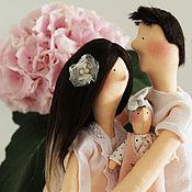 """Куклы и игрушки ручной работы. Ярмарка Мастеров - ручная работа Тильда семья """"Нежные отношения"""". Handmade."""