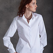 Одежда ручной работы. Ярмарка Мастеров - ручная работа Блузка ORIGAMI wight. Handmade.