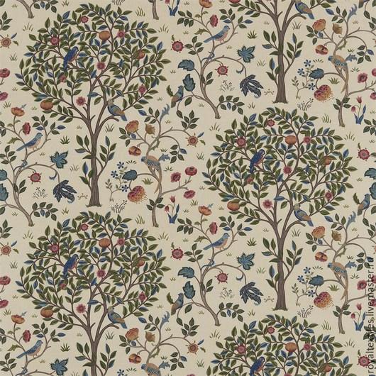 Премиальная портьерная ткань Morris & Co Англия Эксклюзивные и премиальные английские ткани, знаменитые шотландские кружевные тюли, пошив портьер, а также готовые шторы и декоративные подушки.