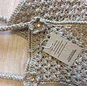 Для дома и интерьера handmade. Livemaster - original item Knitted washcloth. massage. from the jute.
