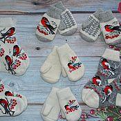 Аксессуары handmade. Livemaster - original item Children`s woolen sets. Handmade.