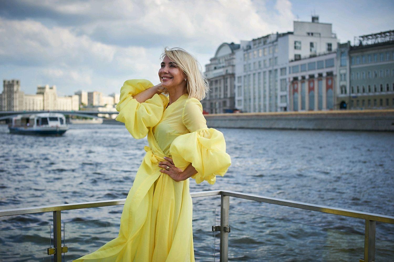 """Платье с запахом """"Лимонная Принцесса"""", Платья, Москва,  Фото №1"""