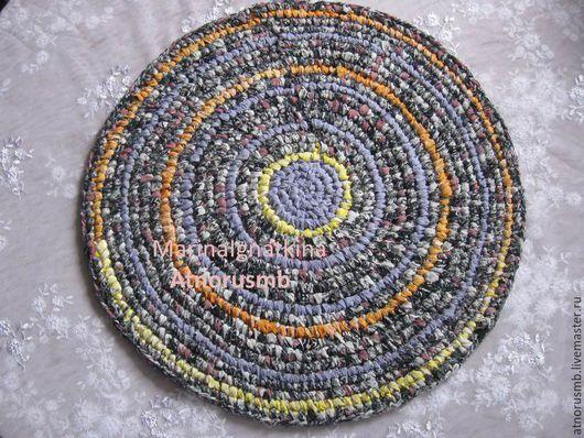"""Текстиль, ковры ручной работы. Ярмарка Мастеров - ручная работа. Купить Коврики лоскутные вязаные. Коллекция """"Сказка"""". Handmade. Разноцветный"""