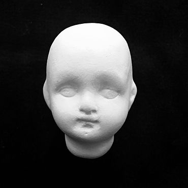 Кукольная головка отливка