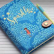 Канцелярские товары handmade. Livemaster - original item Notebook Shine. Handmade.