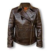 Одежда handmade. Livemaster - original item The jacket of the crocodile SIERRA. Handmade.
