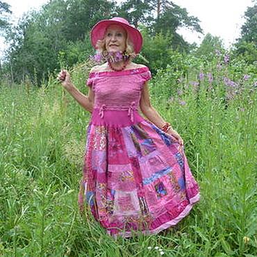 """Одежда ручной работы. Ярмарка Мастеров - ручная работа """"Иван-чай"""",  платье,. Handmade."""