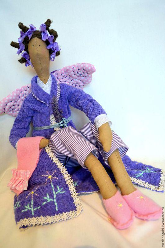 Куклы Тильды ручной работы. Ярмарка Мастеров - ручная работа. Купить Банный Ангел. Handmade. Подарок, ванная комната, тильда