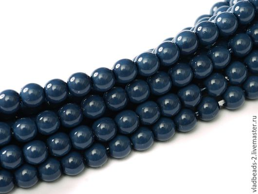 Для украшений ручной работы. Ярмарка Мастеров - ручная работа. Купить Бусины 3мм чешские стеклянные Baltic Blue. Handmade.