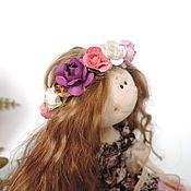 Куклы и игрушки ручной работы. Ярмарка Мастеров - ручная работа Кукла текстильная интерьерная ручной работы Веснушка. Handmade.