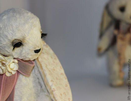 Мишки Тедди ручной работы. Ярмарка Мастеров - ручная работа. Купить Летти и Ллойд. Handmade. Бежевый, вискоза Германия