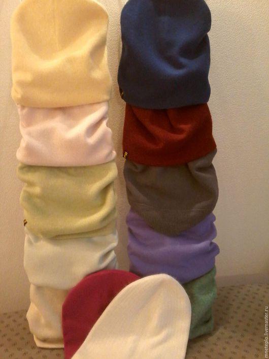 Шапки ручной работы. Ярмарка Мастеров - ручная работа. Купить шапки-носки кашемир. Разноцветные. Handmade. Бледно-розовый