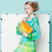 Одежда ручной работы. Ярмарка Мастеров - ручная работа Платье Renocimento_green. Handmade.