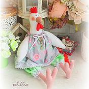 Куклы и игрушки ручной работы. Ярмарка Мастеров - ручная работа Курочка Евлампия. Handmade.