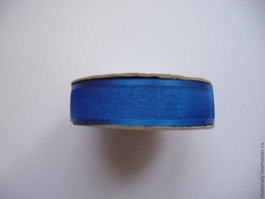 Открытки и скрапбукинг ручной работы. Ярмарка Мастеров - ручная работа. Купить Синяя лента 3 вида. Handmade. Синий, лента